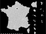 Black and White Map Of France List Of Constituencies Of the National assembly Of France