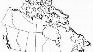 Blackline Map Of Canada top 10 Punto Medio Noticias Canada Map Outline with Provinces