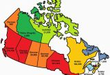 Blank Canada Province Map This Map Shows the Most Popular Language In Each Province