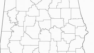 Blank Map Of Alabama Alabama Outline Maps and Map Links