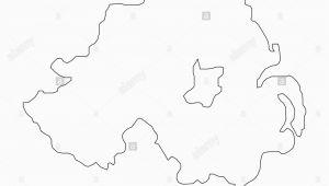 Blank Map Of northern Ireland Ireland Map Stock Photos Ireland Map Stock Images Alamy
