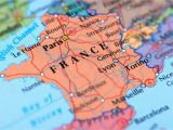 Blank Political Map Of France Geography and Information About France