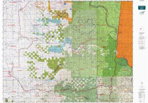 Blm Land Map oregon or 16 Santiam S Map Mytopo