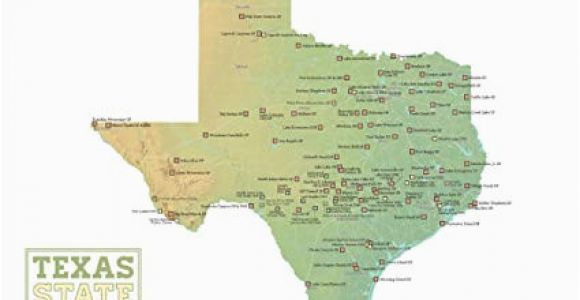 Blm Land Texas Map Amazon Com Best Maps Ever Texas State Parks Map 18×24 Poster Green