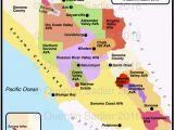 Bodega Bay California Map California Map Of Cities California Wine Appellation Map