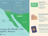 Border Patrol Checkpoints Map Texas Crossing the Border Into Nogales sonora Mexico