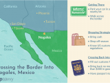 Border Patrol Checkpoints Texas Map Crossing the Border Into Nogales sonora Mexico