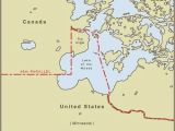 Boundary Waters Minnesota Map Minnesota S northwest Angle is Only Accessible by Land if You