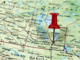 Brandon Canada Map Best City to Live In Manitoba Canada Worldatlas Com