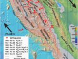Brawley California Map California Map Fault Lines Researchers Map Active Fault Zones Off