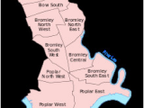 Bromley England Map Districts Of the London Borough Of tower Hamlets Revolvy