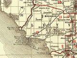 Bronson Springs Colorado Map Florida Railroads Levy County 1900