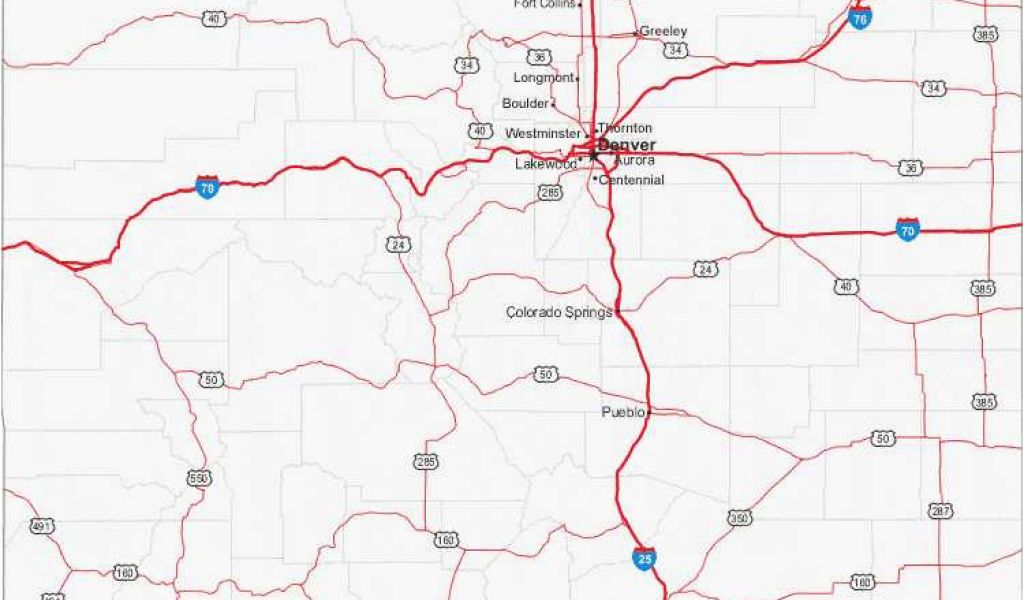 Brush Colorado Map 34 Colorado Highway Map Maps Directions ...