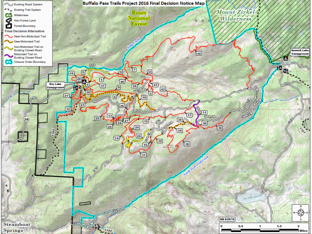 Buffalo Creek Colorado Trail Map Mad Rabbit Trails Project ...