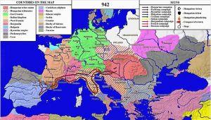 Burgundy Street Madrid Spain Map Hungarian Raid In Spain 942 Wikivisually