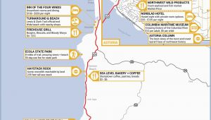 Burns oregon Map Pacific Coast Highway California Map Printable Maps Highlights From