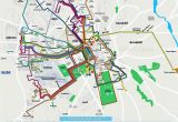 Bus Map Florence Italy Local Bus Routes Lines Stops Public Transport Alsa Network System