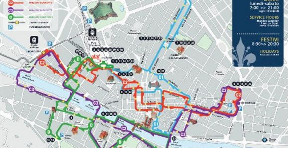 Bus Map Florence Italy Moving Around Florence by Bus ataf Bus System In Florence Italy