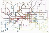 Bus Map Florence Italy Public Transport Map Florence Florence Bus Map Florence Italy