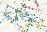 Bus Map Nice France Paris Hop On Hop Off Combo Sightseeing Bus and Seine River Cruise