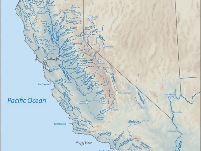 Calexico California Map Santa Barbara On Map Of California