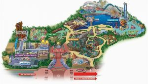 California Adventure Map with Cars Land Maps Of Disneyland Resort In Anaheim California