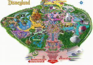California Adventures Map New Disneyland Park Map California Adventures Map