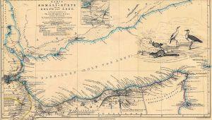 California Desert Region Map Map Of California Desert Region Valid somalia Maps Perry Castaa Eda