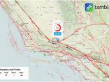 California Earthquake Faults Map Graph Fault Lines Map Map Canada and Us Large California