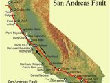 California Earthquake Faults Map San andreas Fault Line Fault Zone Map and Photos
