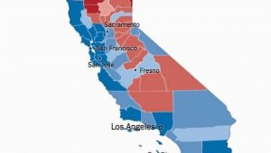 California Election Results by County Map 12 Takeaways From the Calif Vote Separating the Myth From the