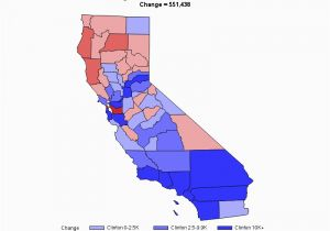 California Election Results by County Map 2012 United States ...