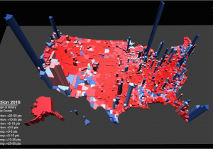 California Election Results Map Us Election 2016 Trump ...