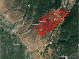 California Fires 2014 Map Wildfire Burns Into Paradise California forcing Evacuations