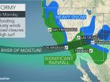 California Flu Map California to Face More Flooding Rain Burying Mountain Snow Into