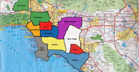 California Gang Map California Gang Territory Map California California Gang Territory