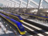 California High Speed Train Map Map Shows High Speed Rail S Sluggish Progress Curbed Sf