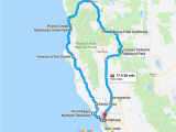 California Highway System Map the Perfect northern California Road Trip Itinerary Travel