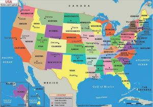 California Map with City Names United States Map with Cities and ...