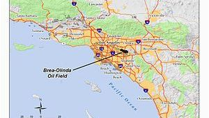 California Oil Fields Map Brea Olinda Oil Field Wikipedia