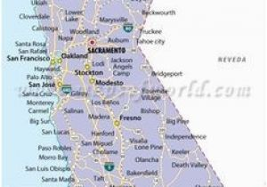 California State City Map Large Detailed Map Of California ...