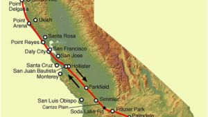California Tectonic Plate Map San andreas Fault Line Fault Zone Map and Photos