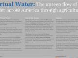 California Water Supply Map Virtual Water the Unseen Flow Of Water Across America Rob Radburn