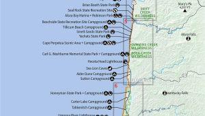 Camping oregon Coast Map northern California southern oregon Map Reference 10 Beautiful