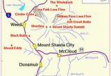 Campsites In California Map 46 Best Maps Mt Shasta area Images On Pinterest Blue Prints