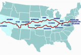 Campsites In California Map Possible Route to Go Through West Virginia Kentucky Missouri