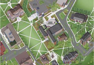 Campus Map University Of oregon Maps University Of oregon ...