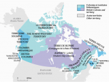 Canada East and Canada West Map Canadian Geographic Historical Maps