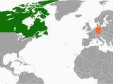 Canada In the World Map Canada Germany Relations Wikipedia