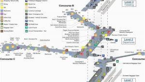Canada International Airports Map Terminal Maps Palm Beach International Airport
